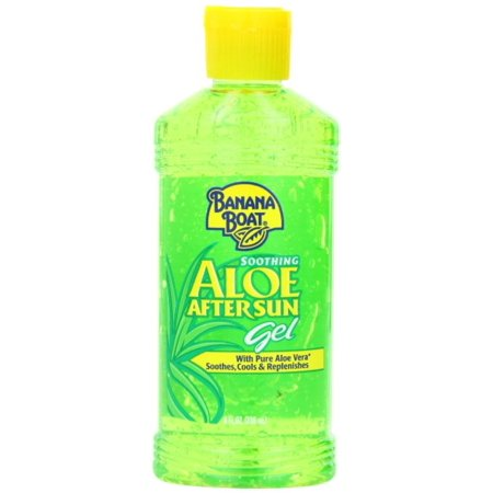 Banana Boat Soothing Aloe After Sun Gel 8 oz (Pack of 6) ()