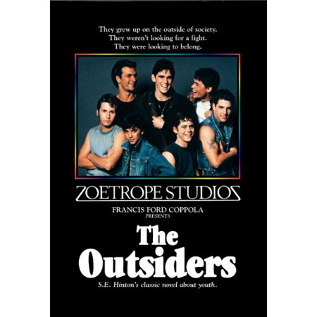 Outsiders The Movie Poster 11x17 Mini Poster in Mail/storage/gift - Tube Adult Movies