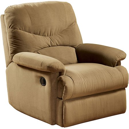 oakwood microfiber recliner multiple colors