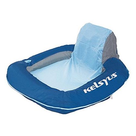 Swimways corp kelsyus floating chair for Floating fishing chair