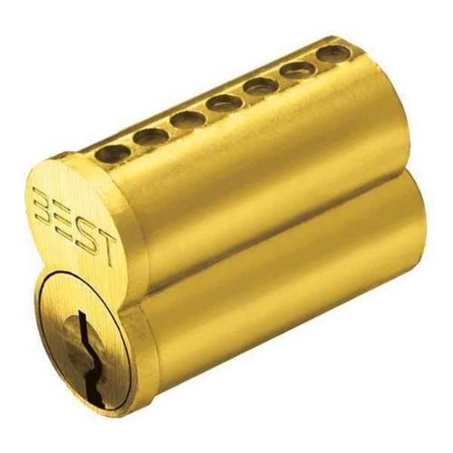 BEST 1C7K1606 Interchangeable Core,Solid Brass G1606276
