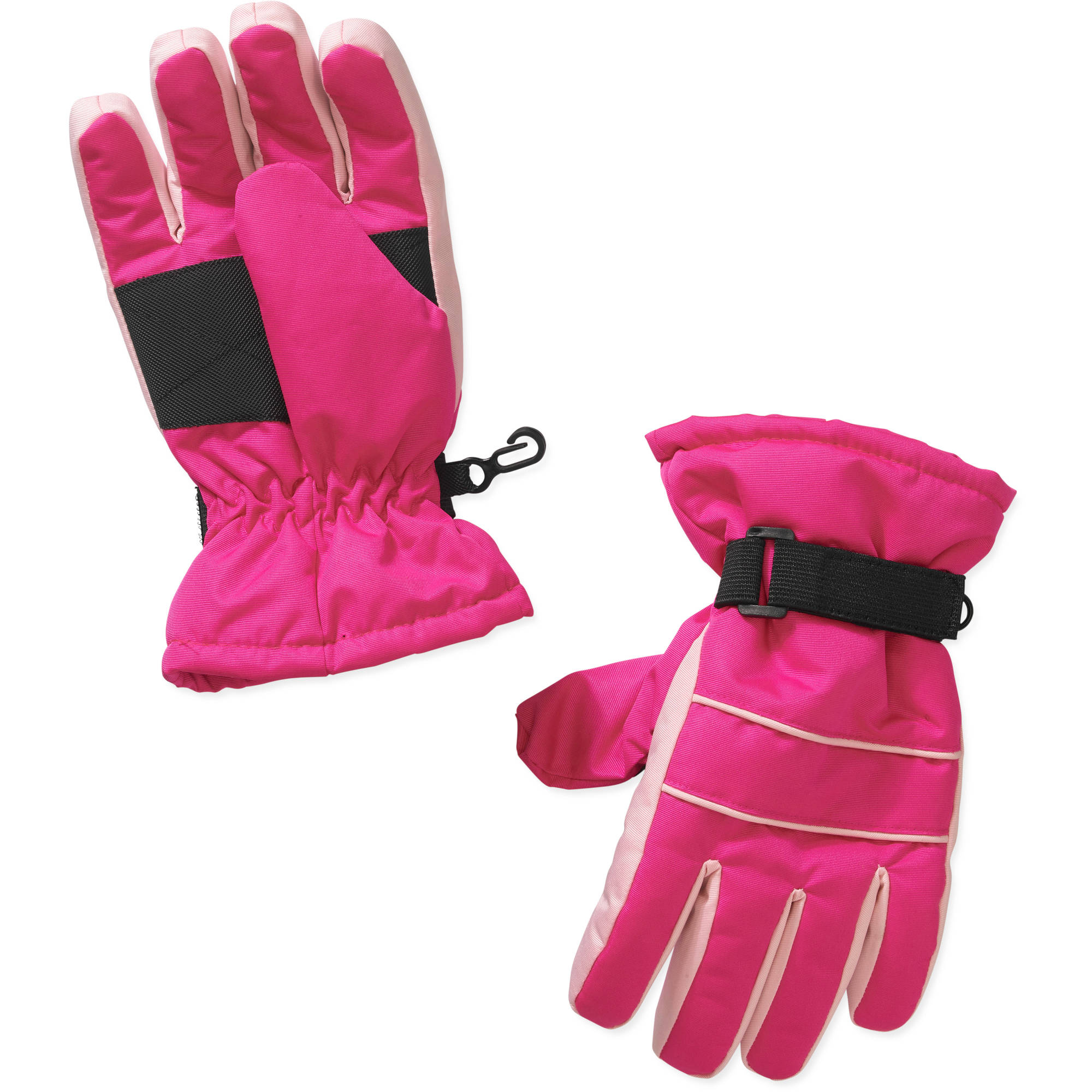 Girls Swiss Tech Fuscia Sizzle Ski Gloves