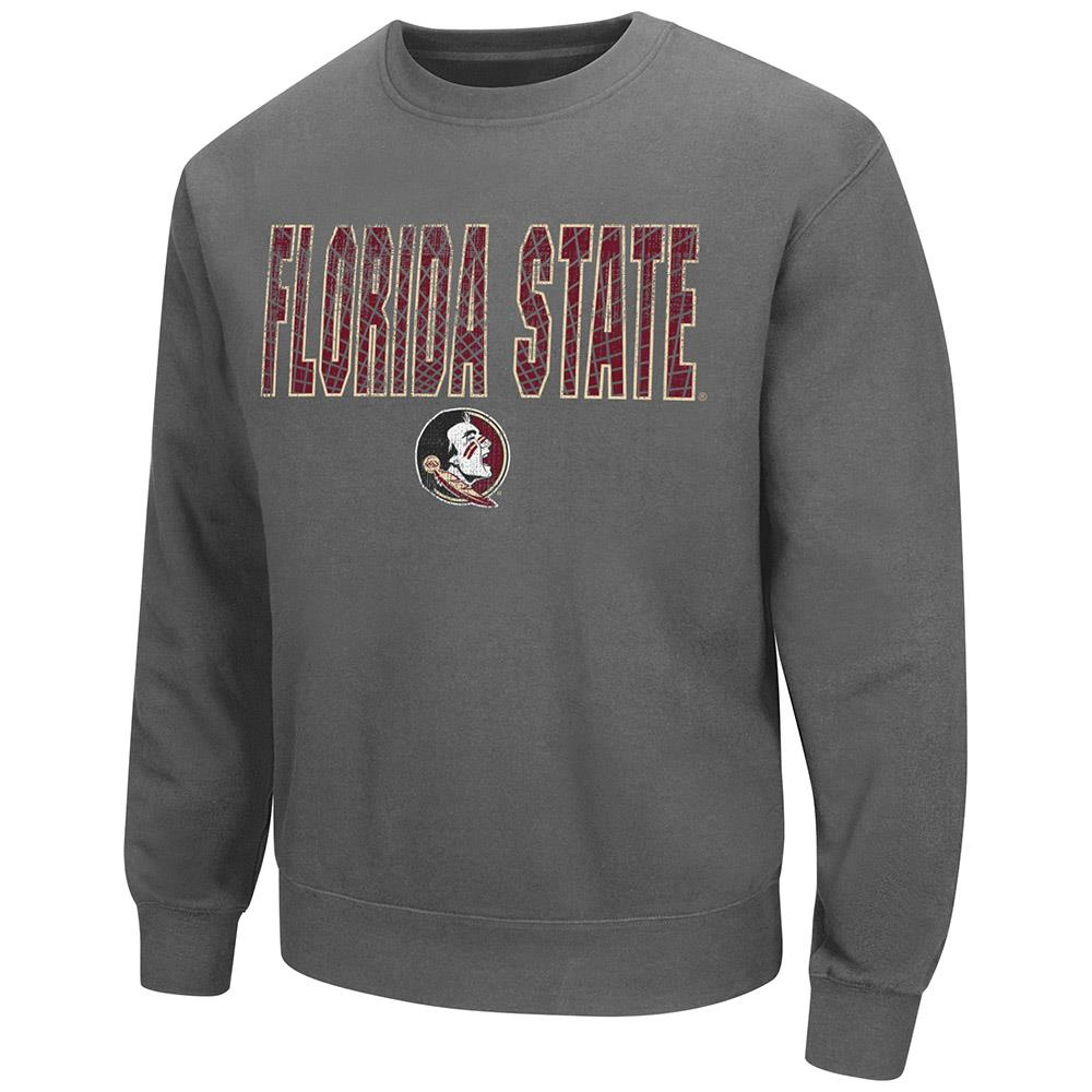 Mens Florida State Seminoles Crew Neck Sweatshirt by Colosseum