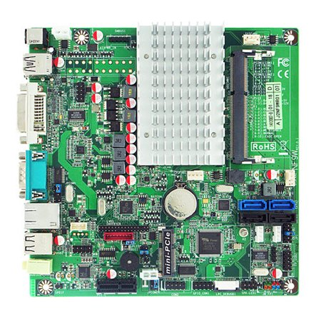 Jetway NF9W-2930 SBC Mini-ITX Intel Celeron N2930 Quad-Core SoC (Bay trail) 1.83GHz Trail Tech Endurance Computer