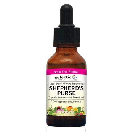 - Shepherd's Purse Extract Eclectic Institute 1 oz Liquid