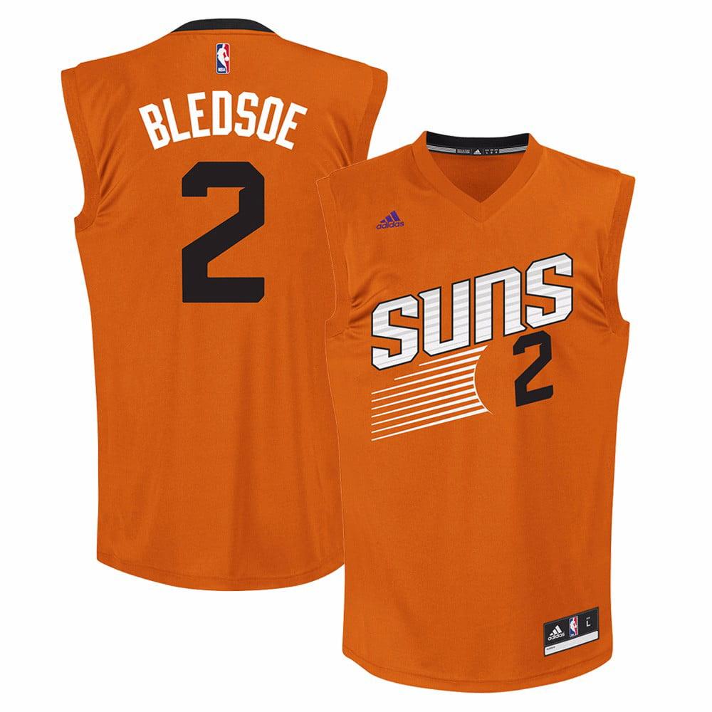 Eric Bledsoe Phoenix Suns NBA Adidas Men's Orange Official Alternate Replica Jersey