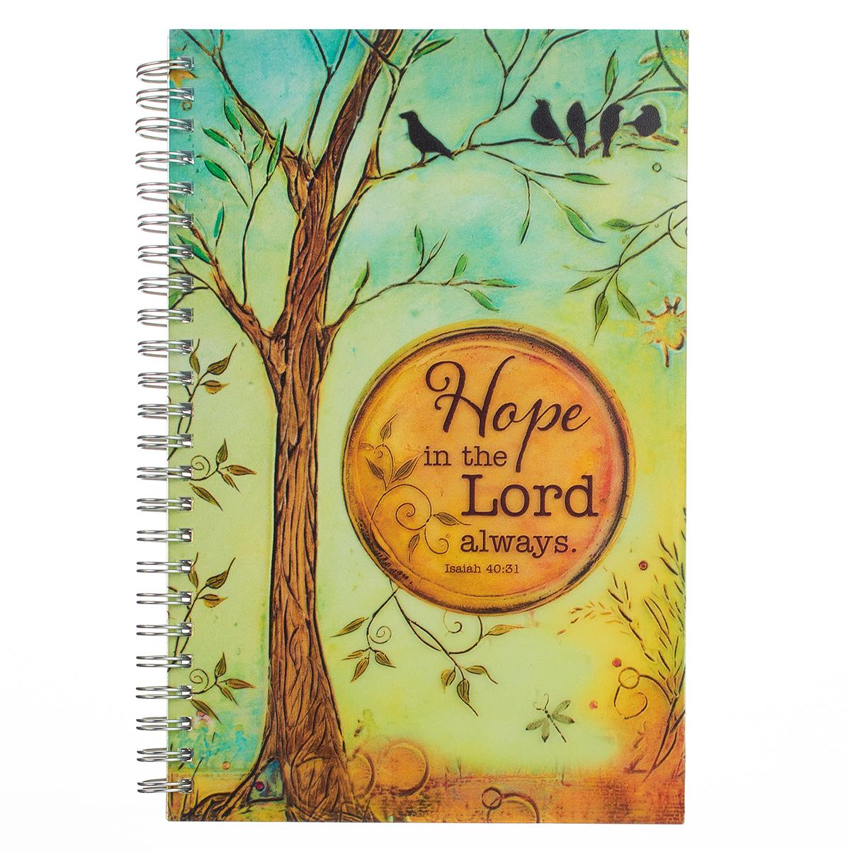 Notebook Wirebound Hope in the Lord Isaiah 40: 31 (Hardcover)