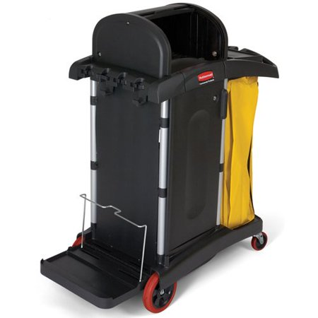 Rubbermaid Commercial Products High-Security Healthcare Cleaning Utility Cart