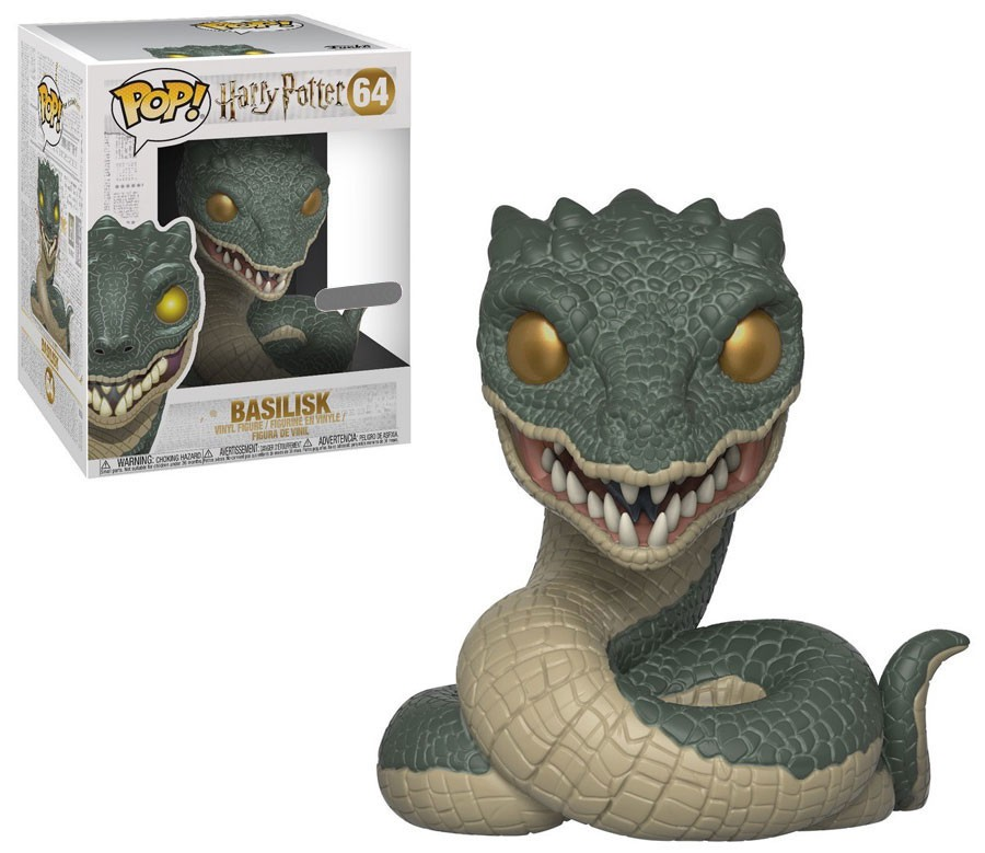 Harry Potter Funko POP! Movies Basilisk Vinyl Figure by