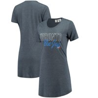 Toronto Blue Jays Concepts Sport Women's Knit Nightshirt - Navy
