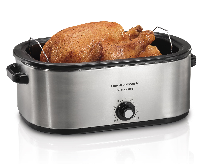 hamilton beach 28 lb turkey roaster oven model 32231 walmart com