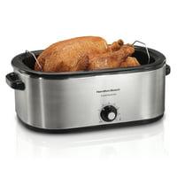 Hamilton Beach 28 lb Turkey Roaster 22 Quart Oven | Model# 32229R