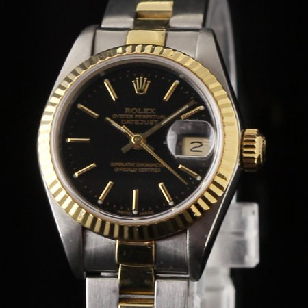 ace87783b99db Rolex - Pre-Owned Rolex Datejust 69173 Steel Women Watch (Certified  Authentic   Warranty) - Walmart.com