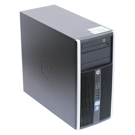 HP Elite 8100 Tower Intel Core i5 3.2Ghz Processor 8GB RAM 1TB Hard Drive DVD-Rom Windows 10 Home 64 (24 Bit Effects Processor)