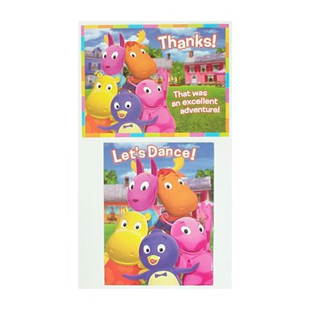 The Backyardigans Invitations and Thank You Notes, By Factory Card and Party Outlet - Factory Card Outlet Halloween Costumes