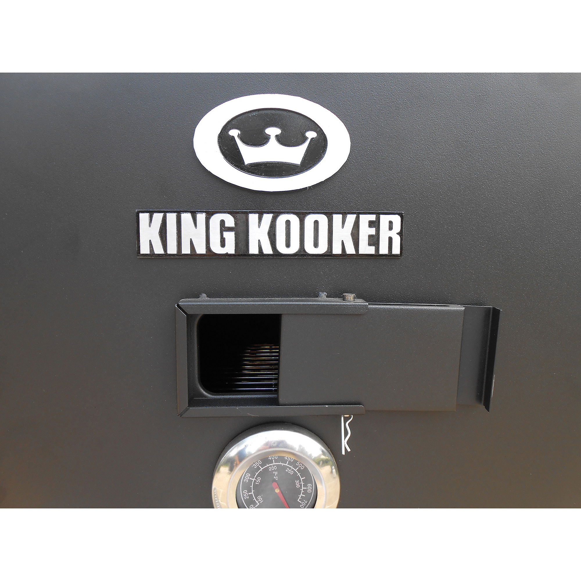 "King Kooker 30"" Low Pressure Smoker with 20,000 BTU Steel Burner"