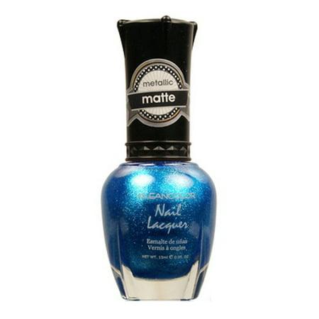KLEANCOLOR Matte Nail Lacquer - Blue Mist