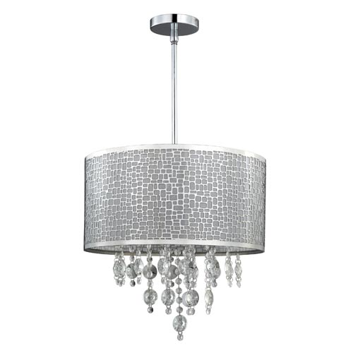 "Canarm ICH394A049 Benito 4 Light 66"" High Drum Chandelier by Canarm"