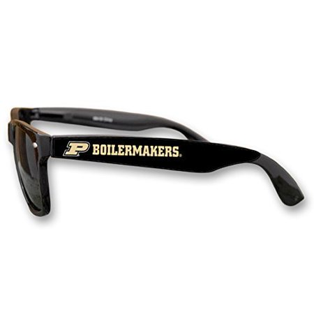 Purdue Boilermakers Black Plastic Frame Classic Sunglasses with Logo ... 24384898644e1
