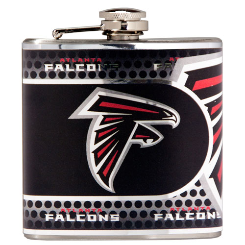 Great American Products Atlanta Falcons Flask Stainless Steel 6 oz. Flask