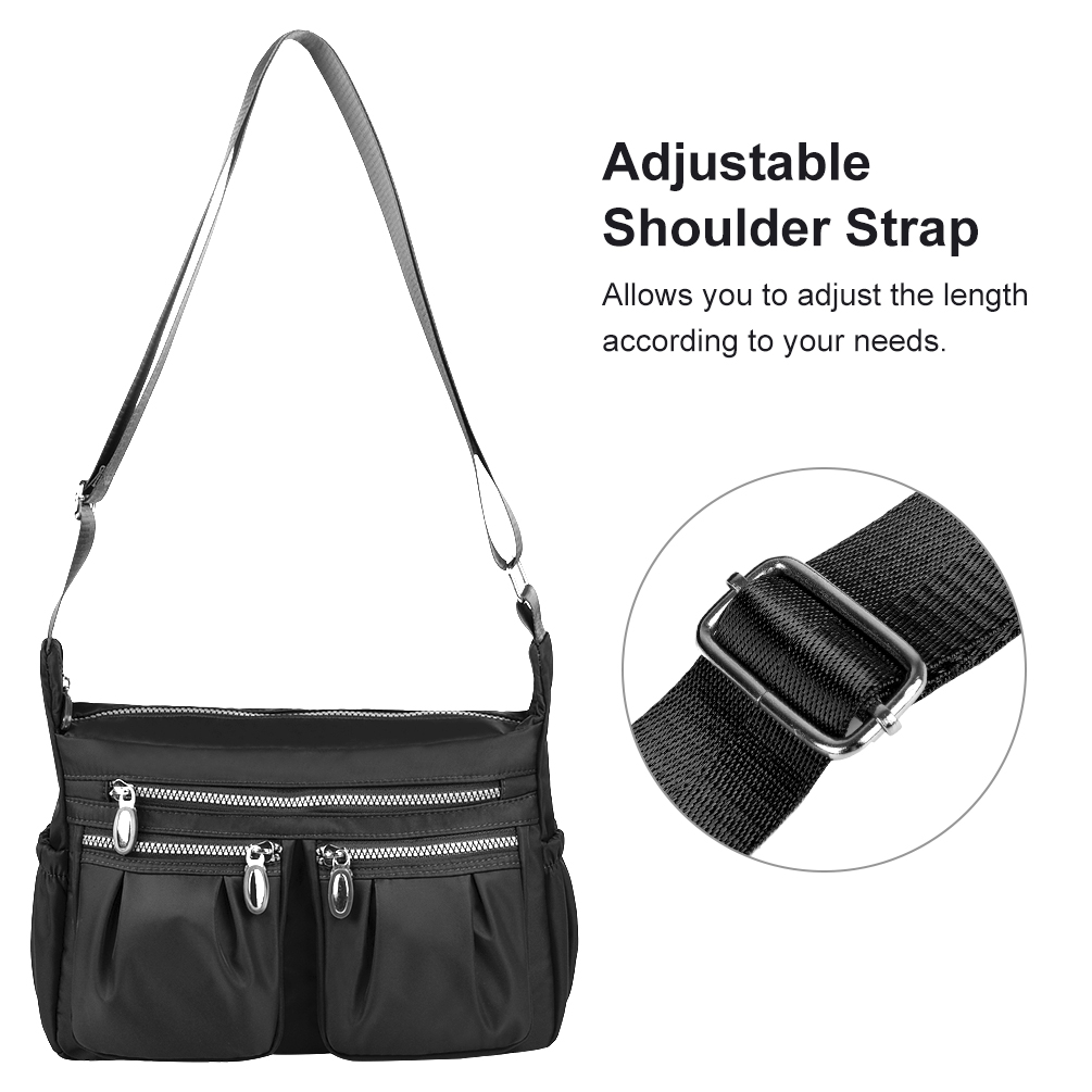 Hand Drawing Digger Messenger Bag Crossbody Bag Large Durable Shoulder School Or Business Bag Oxford Fabric For Mens Womens