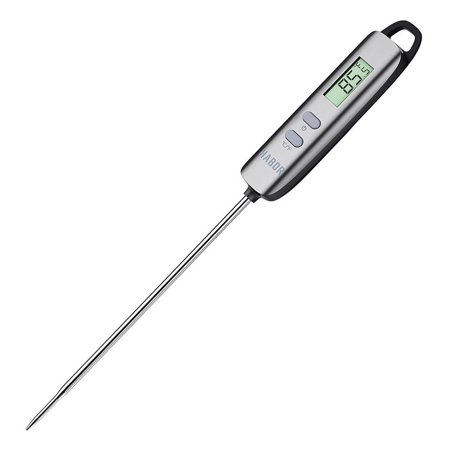 Habor Meat Thermometer Digital Cooking Thermometer with 5 Second Instant Read-out for Kitchen, Grill, BBQ, Food, Steak, Turkey, Candy, Milk, Bath Water - Halloween Candy Food Stamps