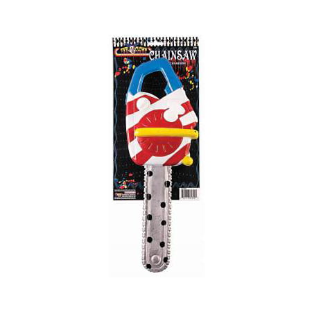 Scary Clown Chainsaw Halloween Costume Accessory - Womens Halloween Costumes Scary