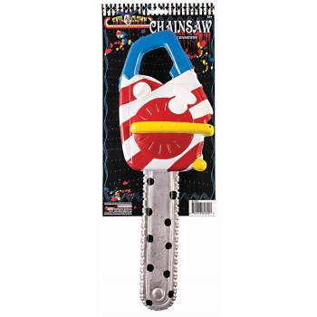 Scary Clown Chainsaw Halloween Costume Accessory