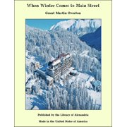 When Winter Comes to Main Street - eBook