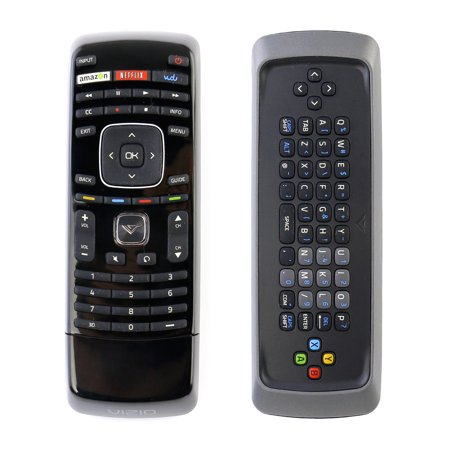 New XRT301 Qwerty Keyboard Remote Control fit for VIZIO 3D Smart TV M3D550KD M3D550SL M3D650SV M420SR M420SV M470SV M550SV XVT323SV XVT373SV