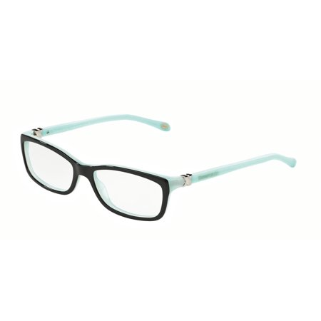 15b6ed335f Tiffany Optical 0TF2036 Full Rim Rectangle Womens Eyeglasses - Size 54 ( Black Blue   Clear Lens) - Walmart.com