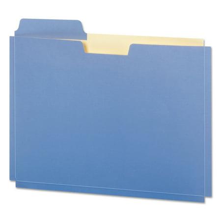 Pendaflex Expanding File Folder Pocket, Letter, 11 Point Stock, Assorted, 10/Pack - Expanding Punched Pocket