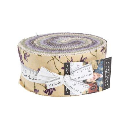 Sweet Violet Jelly Roll 40 2.5-inch Strips by Jan Patek for Moda Fabrics