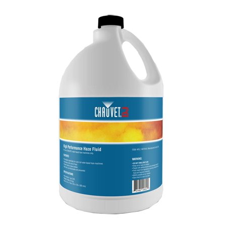 Chauvet DJ Hurricane HFG Water Based Smoke Fog Haze Machine Fluid, 1 -