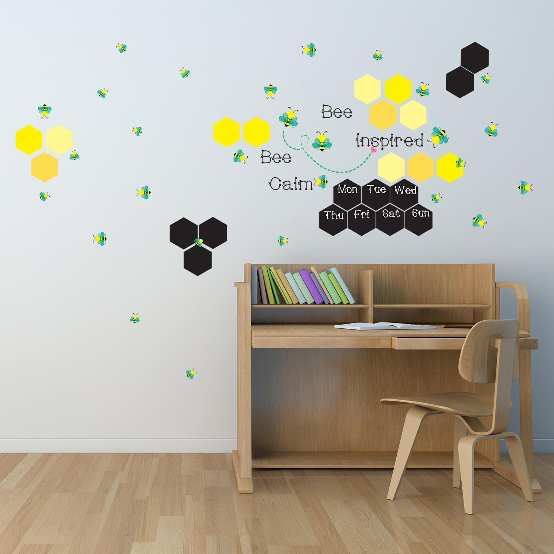 Walplus Wall Sticker Decal Wall Art Chalkboaard with Book Design Art