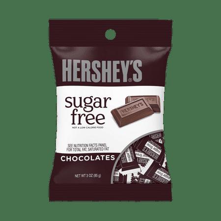 Hershey's Sugar Free Chocolate Candy Bars, 3 Ounce (Pack of - Caffeine Free Chocolates