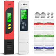 4 in 1 Set LCD Display Digital pH Meter TDS Pen EC Thermometer ATC Water Quality Tester