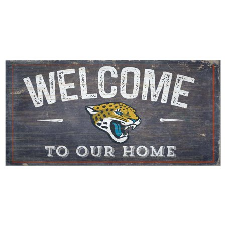 Fan Creations NFL Welcome To Our Home Sign