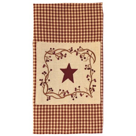 Stars And Berries Patch Country Towel Towle Country Manor