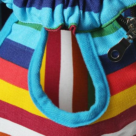 S-XL Size Fashion Pet Puppy Dog Cat Pig Net Canvas Backpack pigcanvasbackpack Front Tote Carrier Travel Shoulder Bag - image 3 de 9