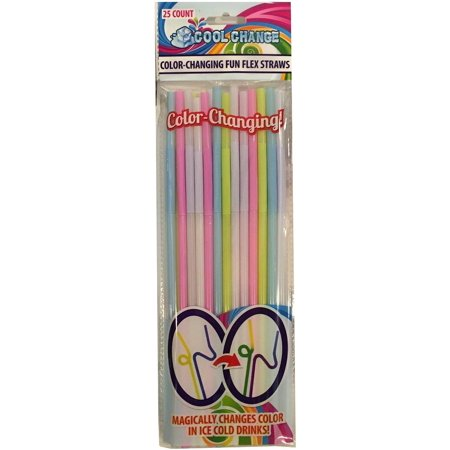 Color Changing Straws (FunFlex Color Changing Disposable Straws -)