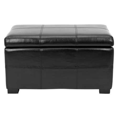 Safavieh Madison Small Leather Storage Bench
