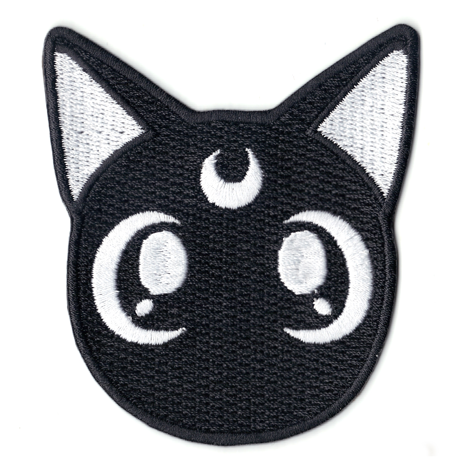 Anime Sailor Black Cat Iron On Patch
