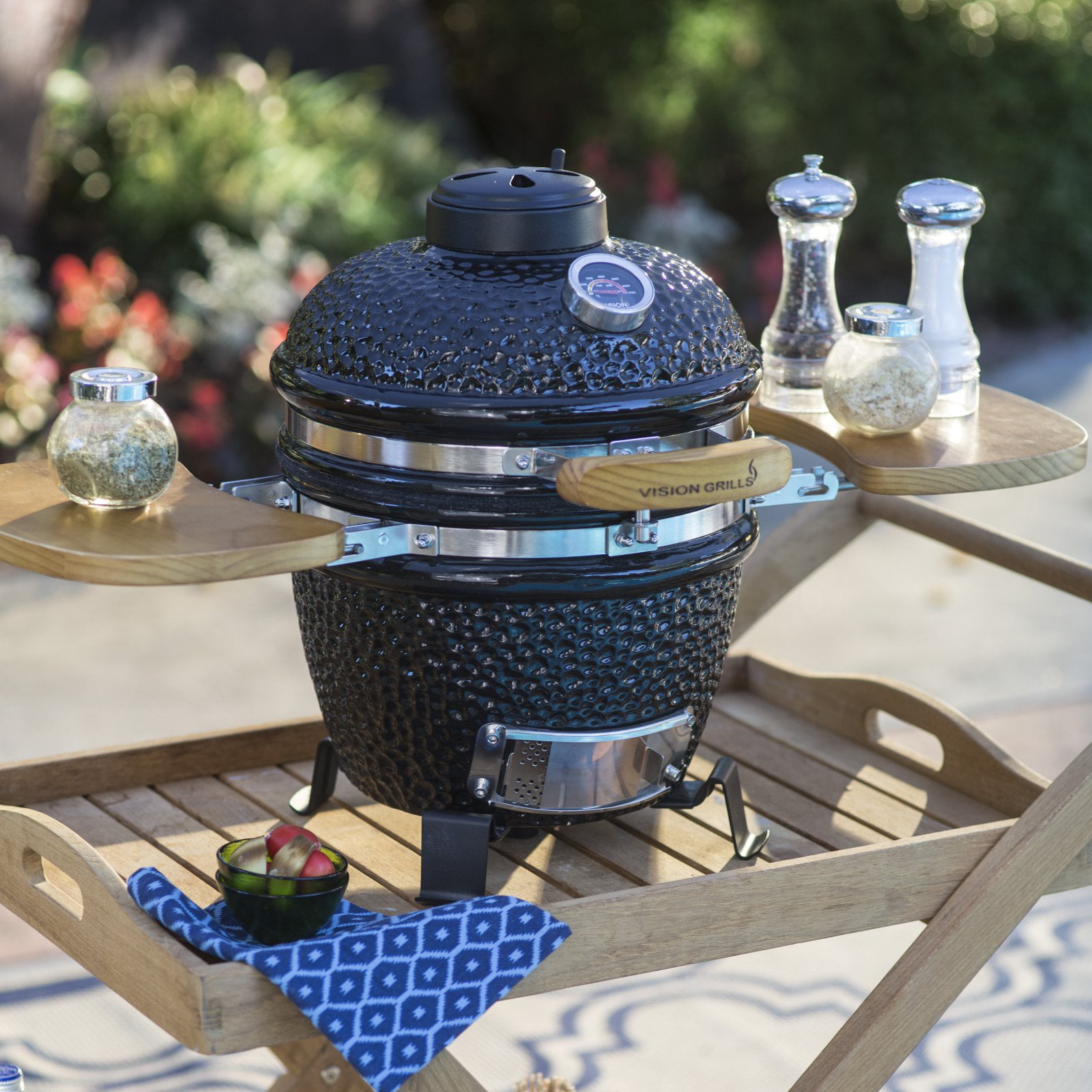 Vision Grills Classic P Series Kamado Charcoal Grill by Phase 2 LLC