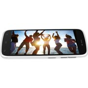 """BLU Life Play L100a 4 GB Smartphone, 4.7"""" LCD1280 x 720, 1 GB RAM, Android 4.2 Jelly Bean, 3G, White"""
