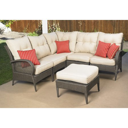 Mission Hills Modular Wicker Collection Laguna Seating Outdoor Patio Lawn  And Garden Furniture Set - Mission Hills Modular Wicker Collection Laguna Seating Outdoor Patio Lawn  And Garden Furniture Set