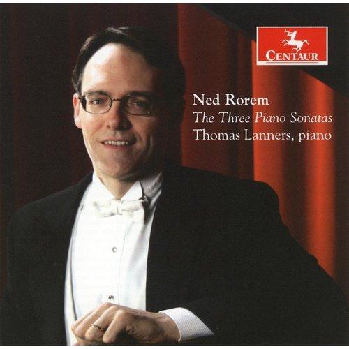 N. Rorem - Ned Rorem: The Three Piano Sonatas [CD]