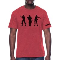 Fortnite Three Dancers Men's and Big Men's Graphic T-shirt