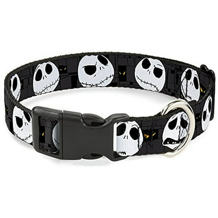 Dog Collar Plastic Clip Nightmare Before Christmas Jack Expressions Gr