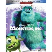 Monsters, Inc. (Blu-ray + DVD + Digital Copy)